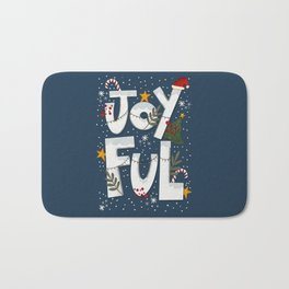 Joyful Holiday Bath Mat