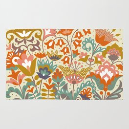 Forest flowers Rug