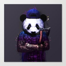 Panda Killer Canvas Print
