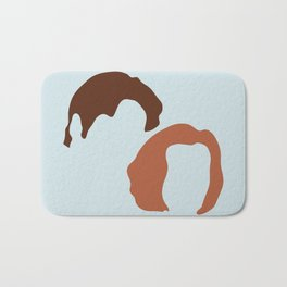 Mulder and Scully, X-Files Bath Mat