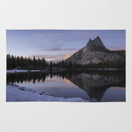 Cathedral reflections - Church in the Sierra Rug