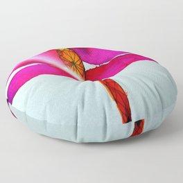 Vibrant Dragonfly Floor Pillow