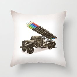 FIRE!!! Throw Pillow
