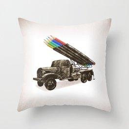 FIRE!!! Throw Pillow