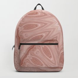 Rose Pink Mandala Backpack