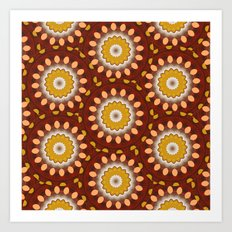 Now - Kaleidoscope  Art Print
