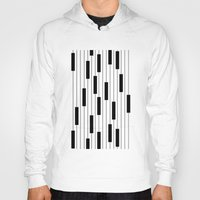 piano Hoodies featuring Piano by beach please