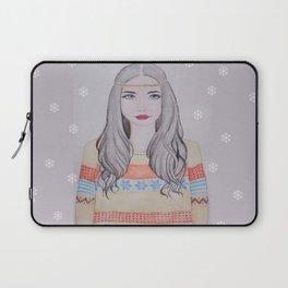 Nordic Girl Laptop Sleeve
