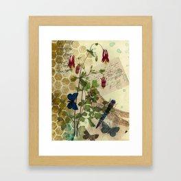 Columbine Love Letters 2 Framed Art Print