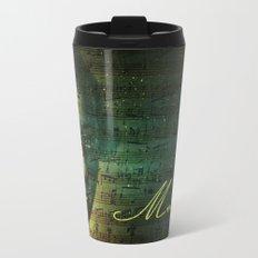 Wolfgang Amadeus Mozart Metal Travel Mug