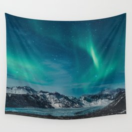 Chasing Aurora Wall Tapestry