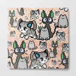 Cat and kitten 2 Metal Print