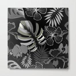 Palm leaves. Metal Print