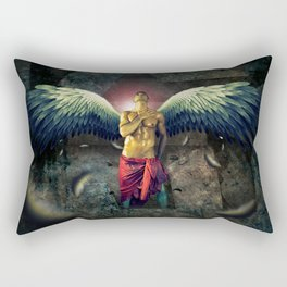 angel nude art  Rectangular Pillow