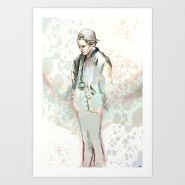 Breathing Underwater Art Print