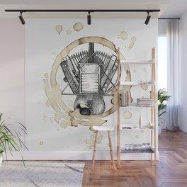 Coffee Stained Fais Do-Do-Louisiana Series Wall Mural