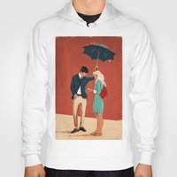 broadway Hoodies featuring Broadway Bus Stop by Stephan Parylak