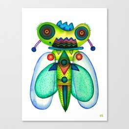 Dragonfly Moth Canvas Print