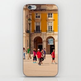 Lisbon Place architecture iPhone Skin