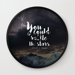 You could rattle the stars (stag included) Wall Clock
