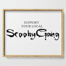 Support your local Scooby Gang Serving Tray