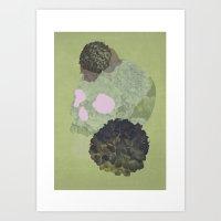 Hydrangea Danger 2 Art Print