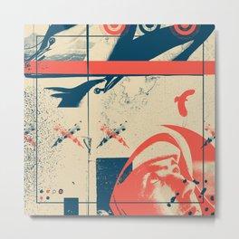 Fragments Tile 3/12 Metal Print