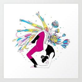 Dancing stillness Art Print