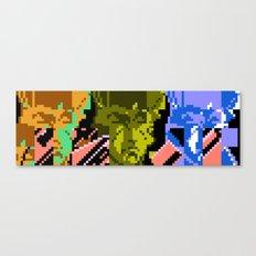 Three Double Crossers Canvas Print