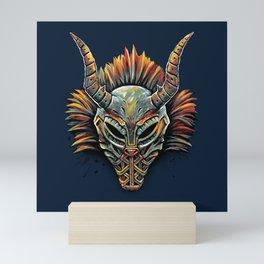Killmonger Tribal Mask Mini Art Print