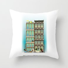 Time to Get up & Go to Work Throw Pillow