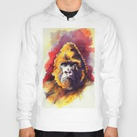 ape Hoodies featuring APE by Chris Brothers