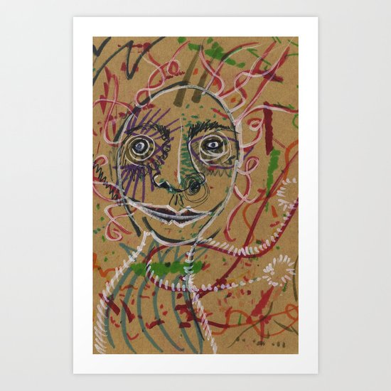 Color spirit Art Print