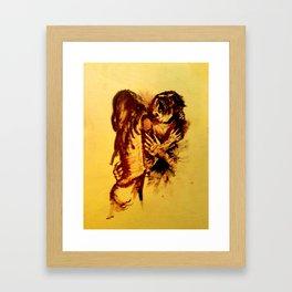 union Framed Art Print