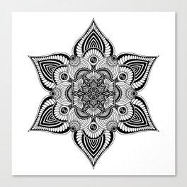 Mandala Seamless Pattern 2 Canvas Print
