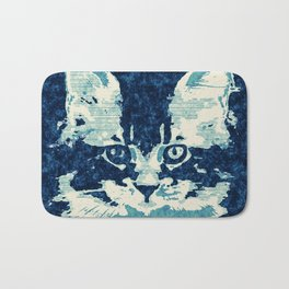 little cat Bath Mat