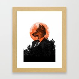 The real Wolf of Wall Street Framed Art Print
