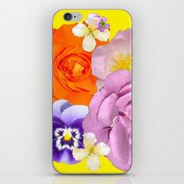 Bright Florals iPhone Skin