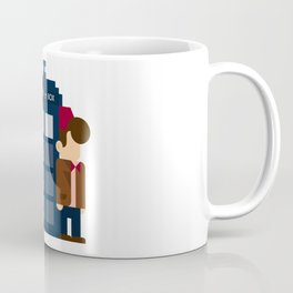 Doctor Who 10th & 11th Coffee Mug