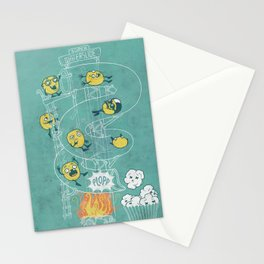 Waterslide Stationery Cards