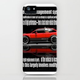 GOL GTI iPhone Case
