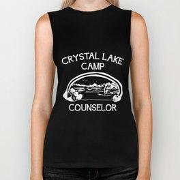 Camp Crystal Lake Counselor Biker Tank