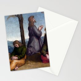 Raphael The Agony in the Garden of Gethsemane Stationery Cards
