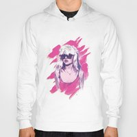 blondie Hoodies featuring Blondie by Dave Merrell