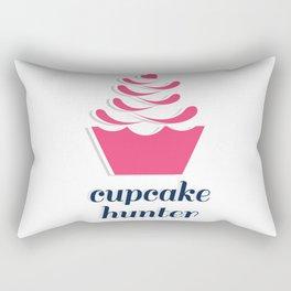 Cupcake Hunter Rectangular Pillow