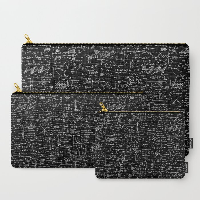 Physics_Equations_on_Chalkboard_CarryAll_Pouch_by_Thin_Line_Studio__Set_of_3