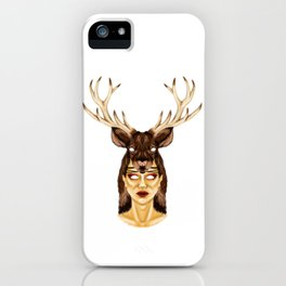 STAG HEADRESS iPhone Case