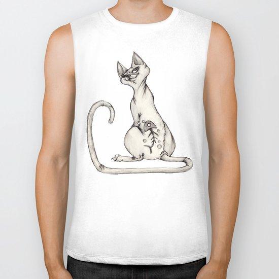 Cats with Tats v.1 Biker Tank