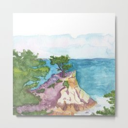 The Lone Cypress of Monterey Metal Print