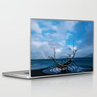 vikings Laptop & iPad Skins featuring Remember the Vikings by Alex Tonetti Photography
